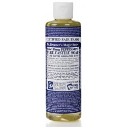 Savon liquide Menthe Poivrée - 236 ml Dr Bronner