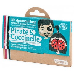 Kit 3 couleurs - Pirate & Coccinelle