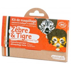 Kit 3 couleurs - Zèbre & Tigre