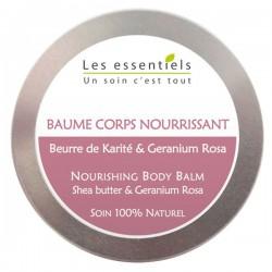 Baume Corps Nourrissant - Karité & Géranium Rosa