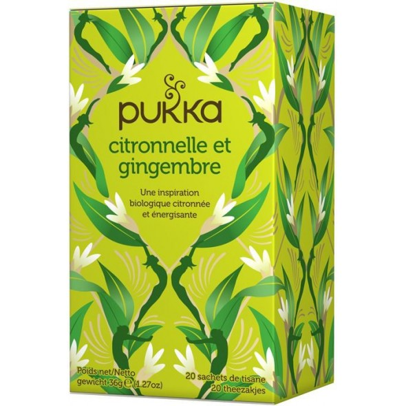Tisane Pukka LEMONGRASS & GINGER