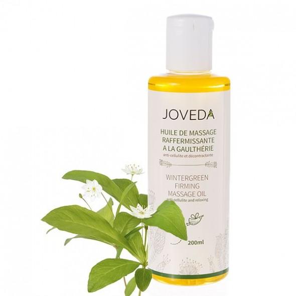 Huile de massage raffermissante anti-celluite et détente musculaire à la gaulthérie (Wintergreen)  Joveda - 200 ml