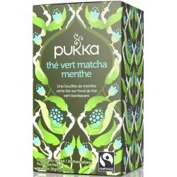 Thé Vert Matcha Menthe - Pukka