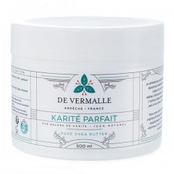 KARITE PARFAIT De Vermalle - Karité brut bio non raffiné - 500 ml