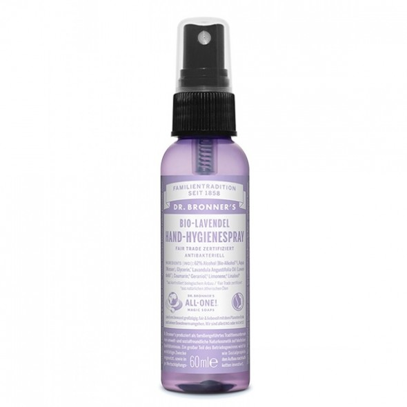 Spray Hygiène Mains Bio - Lavande