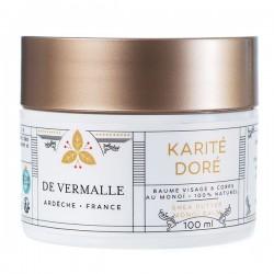 KARITE DORE - Baume douceur au Karité et Monoï - 100 ml
