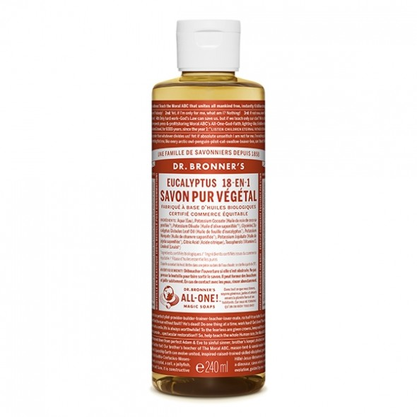 Savon liquide Eucalyptus - 236 ml Dr Bronner