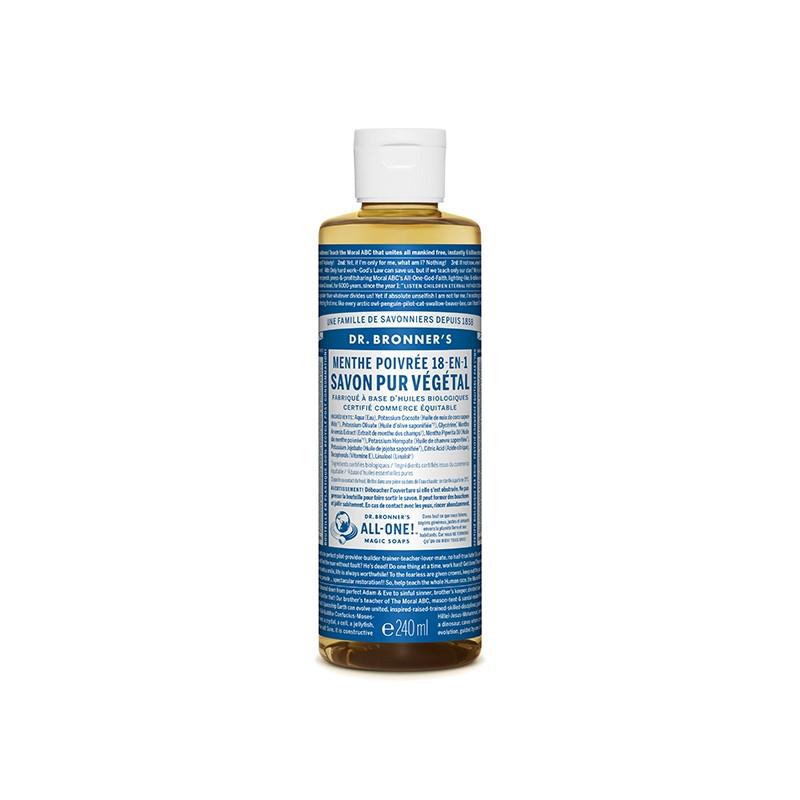 Savon Liquide Naturel BIO Menthe