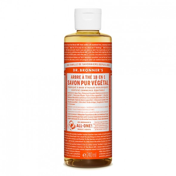 Savon liquide Tea Tree - 236 ml Dr Bronner