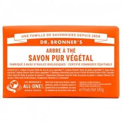Savon Solide Pur Végétal Tea Tree