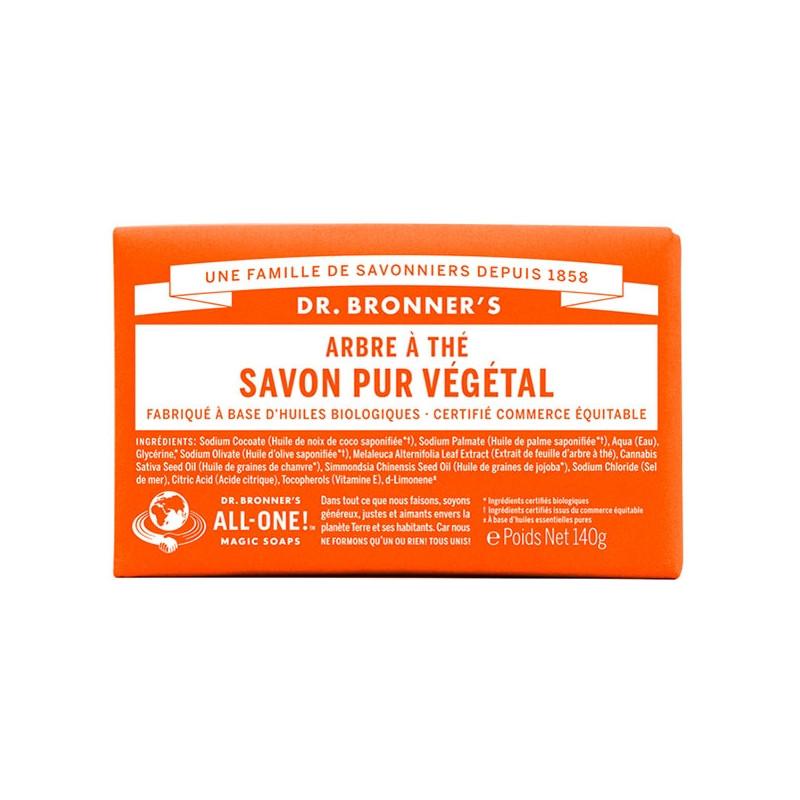 Savon Tea Tree Pur Végétal