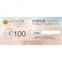 Chèque cadeau 100€