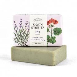 Savon 100% Naturel à l'Argile Verte Detox N°1 de Savon Stories