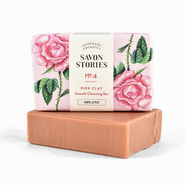 Savon Naturel à l'Argile Rose