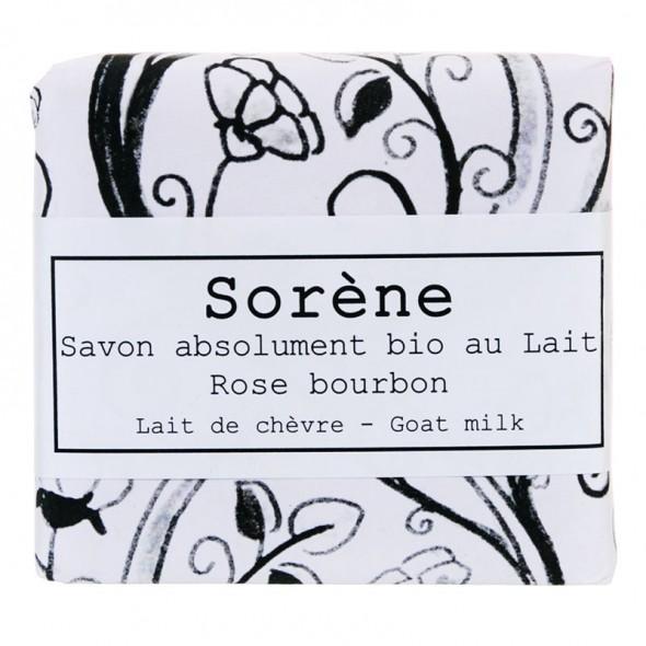 Savon absolument bio au Lait - Rose bourbon