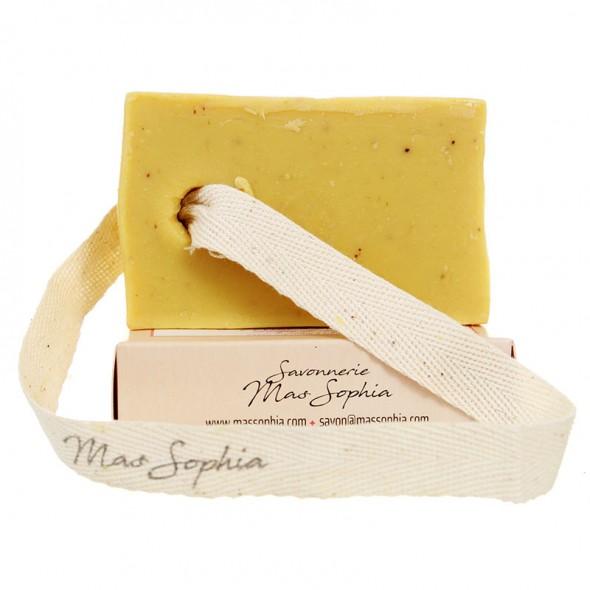 Savon solide Farine de Châtaigne et Miel d'Ardèche Bio - Purifie et Régénère