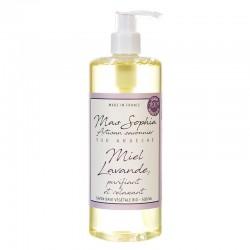 Savon Liquide Miel Lavande Bio - Purifiant et Relaxant - 500ml