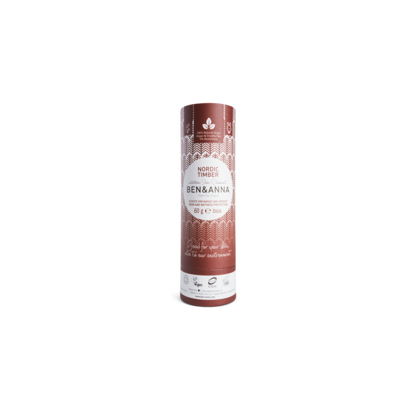 Déodorant papertube - Nordic Timber - 60g