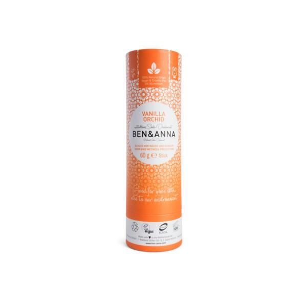 Déodorant papertube - Vanille Orchidée - 60g