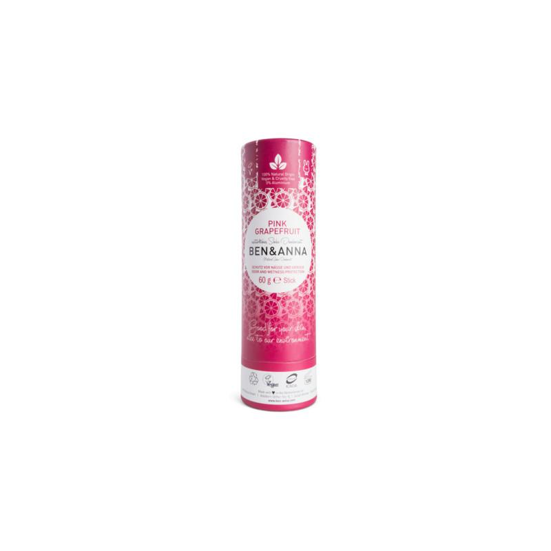 Déodorant papertube Pamplemousse Rose - 60g