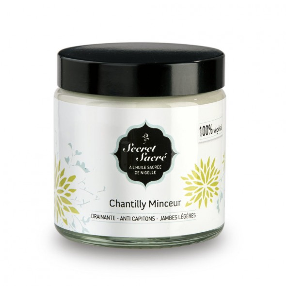Chantilly Minceur à la Nigelle bio - 120 ml