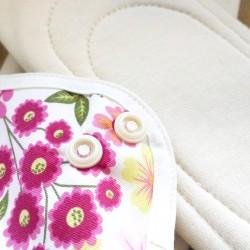 Lot de 2 serviettes hygiéniques lavables - Small