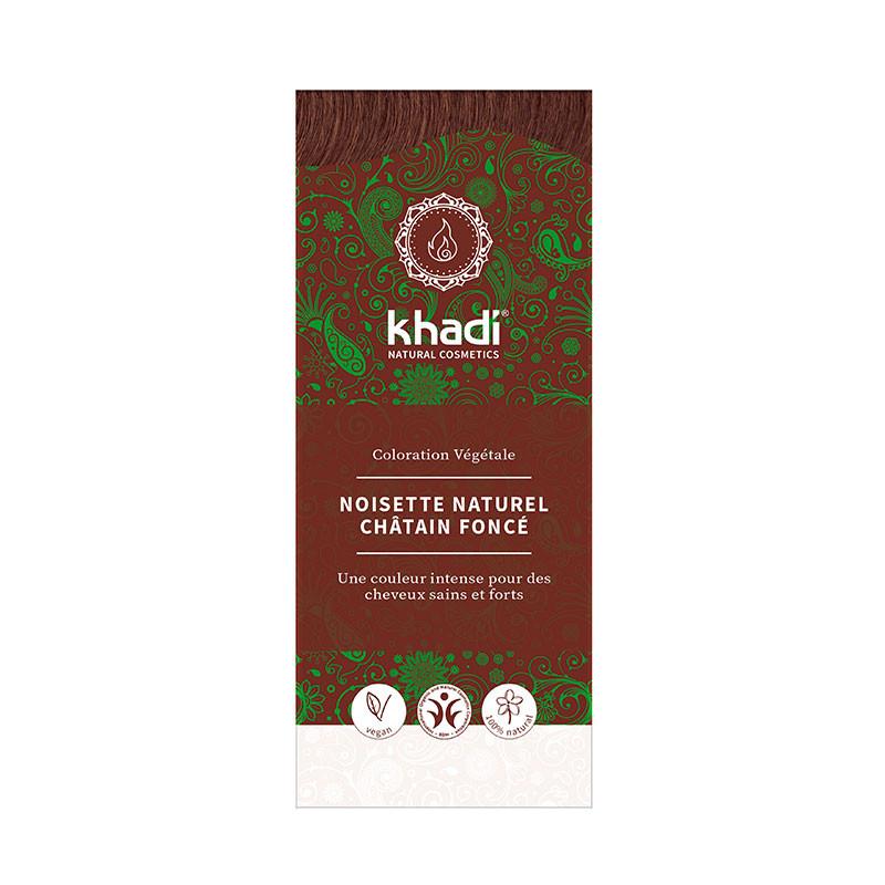 Coloration Végétale Khadi Noisette Naturel - Châtain Foncé