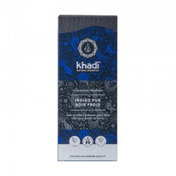 Coloration Végétale Khadi Indigo pur Noir Froid