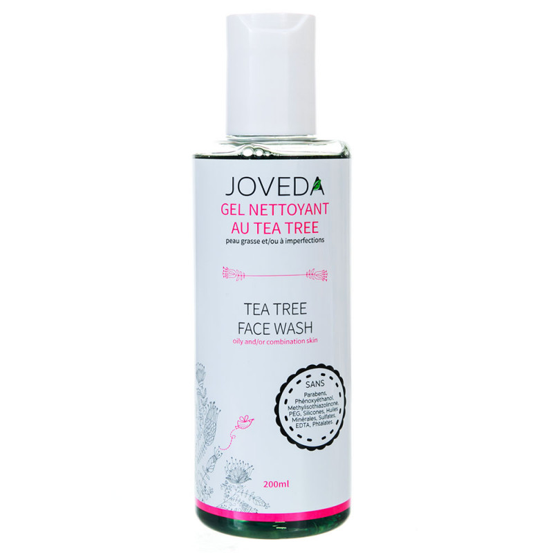 Gel Nettoyant au Tea Tree  JOVEDA 200 ml