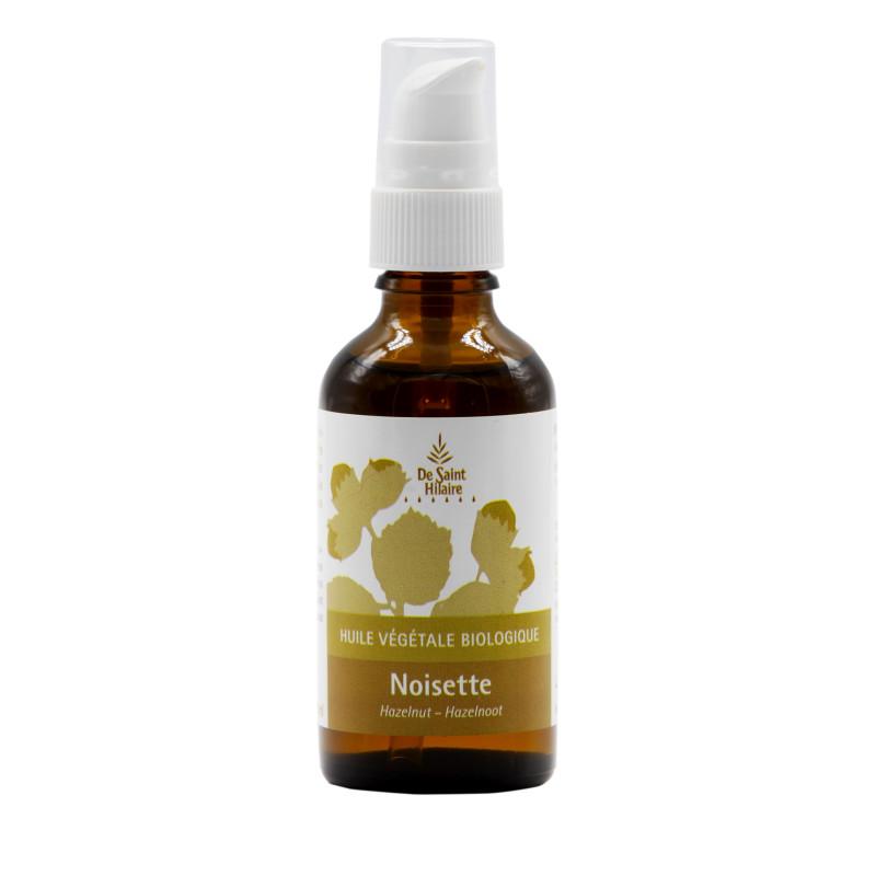 Huile végétale bio Noisette - 50 ml