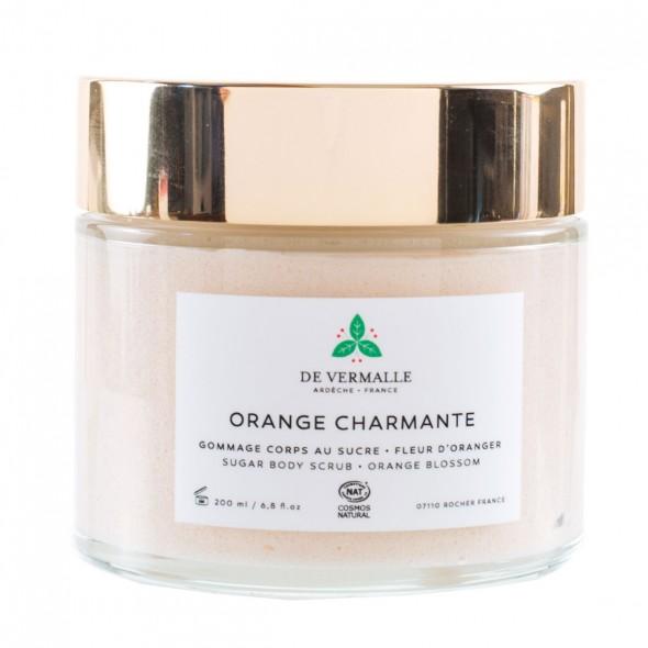 Gommage corps au sucre Orange Charmante DE VERMALLE