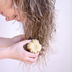 Après-shampoing solide certifié bio - Lamazuna