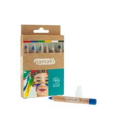 Kit de 6 crayons de maquillage Arc-en-Ciel