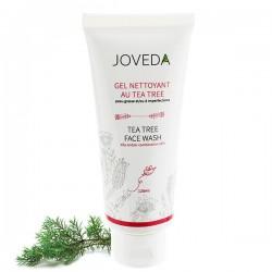 Gel Nettoyant peaux grasses et acnéiques au Tea Tree de Joveda