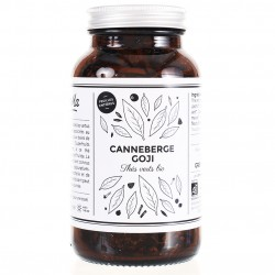 Thé vert bio Canneberge Goji - bocal verre