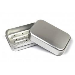Boite à savon en aluminium recyclable