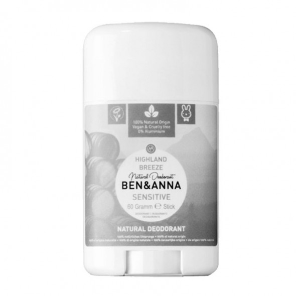 Déodorant stick peaux sensibles Highland Breeze - 60g