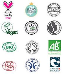 les labels certifiés bio de nos comsétiques naturels