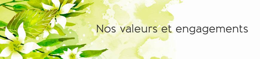 les valeurs et engagements d'univeda