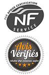 Avis vérifiés certifiés NF par l'afnor