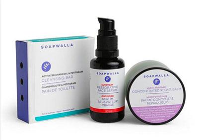 les produits naturels de Soapwalla