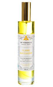 Huile de massage Ylang Succulent De Vermalle